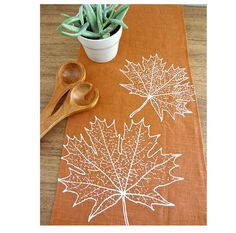 Hey, I found this really awesome Etsy listing at https://www.etsy.com/listing/112719905/harvest-leaves-fall-thanksgiving-linen