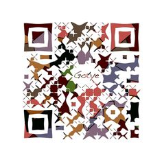 "#QR CODE e la #Musica. Bellissimo QR code ed altrettanto il video musicale di #Gotye ""Somebody That I Used to know"" - - -Gotye's Art qr code"