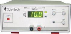 Scientech 4073 DC Power Supply is designed as a Constant Current (CC) and Constant Voltage (CV) source for use in laboratories, industries and field testing. With compact size, light weight low power loss, it provides DC output voltages for Analog and Digital testing. A 3 digit display for voltage & current is provided to read the values. These two parameters can be switched to display either voltage or Current. Scientech 4073 has excellent line and load regulation and is provided with…