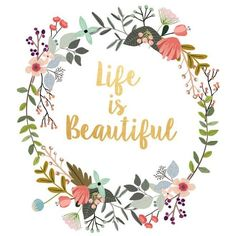 Word Art, Life Is Beautiful, Typography Quote, Gallery Wall Print,... ❤ liked on Polyvore featuring home, home decor, wall art, quote posters, motivational quotes posters, quote wall art and inspirational quote posters