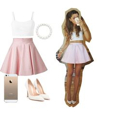 Ariana Grandes outfit