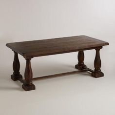 Dream table for MC: Seats 12 people when fully extended!!! Rectangular Java Greyson Extension Table | World Market