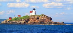 Lighthouse site seeing in the fall. Fall in Maine, the best festivals, foliage and fun!  VisitMaine.net  #MaineLiving