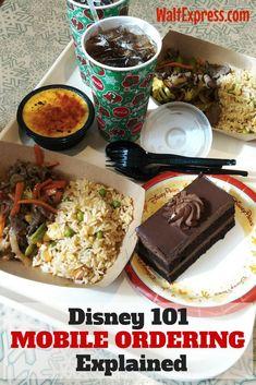 Disney World Tips | Disney 101: New Mobile Food and Beverage Ordering Explained | #DisneyWorldTips #DisneyWorld #DisneyDining #WDW