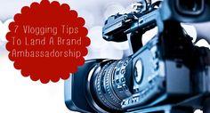 7 Vlogging Tips To Become A Brand Ambassador - TheSITSGirls.com