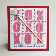 Printable background grid & directions to make several variations of this card