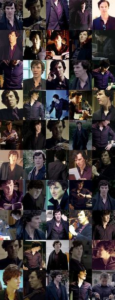 This might be every appearance of the purple shirt so far. I think we're all good here... // You're welcome.