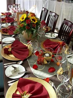 fall linens for wedding - Google Search