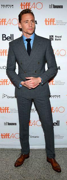 Tom Hiddleston attend the 'High-Rise' premiere during the 2015 Toronto International Film Festival at The Elgin on September 13, 2015 in Toronto. Full size image: http://ww2.sinaimg.cn/large/6e14d388gw1ew1rpkjpuxj21kw2l0e81.jpg Source: Torrilla