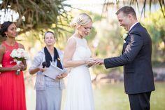Wedding ceremony, Novotel Twin Waters Resort. www.lanicarter.com