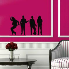 Wall Vinyl Sticker Decal Art Design Dancing and Singing People Room Nice Picture Decor Hall Wall Chu650 Thumbs up decals http://www.amazon.com/dp/B00J9R7SNC/ref=cm_sw_r_pi_dp_pzSItb0JM04R5CT1