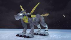 Metalgarurumon 3D by sir-rodrigues on DeviantArt