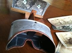 1900 H.C. White Stereoscope with 7 by RedRavenCollectibles on Etsy,