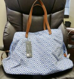 The greatest tote ever from Stitch Fix!  So many compartments.  Could be used as a baby bag.