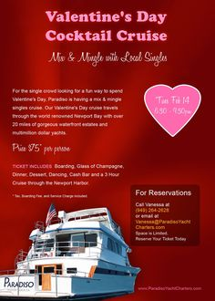 Flowers and candy are lovely, of course. But if you are thinking outside the box (of chocolates) for Valentine's Day, a romantic cruise may be the ...