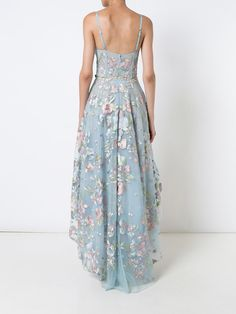 2018 Chic A-line Prom Dresses Spaghetti Straps Asymmetrical Prom Dress Evening Dresses - Prom? Burgundy Homecoming Dresses, High Low Prom Dresses, A Line Prom Dresses, Evening Dresses, Vestido Maxi Floral, Floral Dresses, Floral Tunic, Ditsy Floral, Vestidos High Low