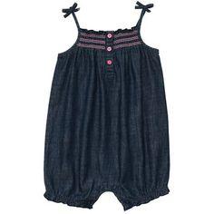 perfect little denim jumpsuit // carter's