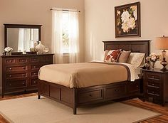 Keystone 4-pc. King Platform Bedroom Set w/ Storage Bed