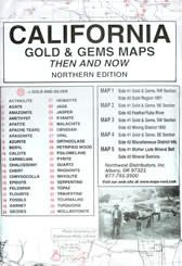 California Gold And Gems Maps Northern Edition