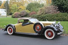 The Earl Ipsen,1932 Huppmobile Custom Roadster  Chassis no. 5021