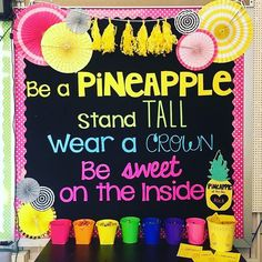 """From """"don't let anyone dull your sparkle,"""" to """"your voice matters,"""" here are some of the best classroom quotes for motivating & inspiring kids. Quotes For Students, Quotes For Kids, Too Cool For School, School Stuff, Sunday School Decorations, Classroom Quotes, Rainbow Sky, School Quotes, Classroom Organization"""