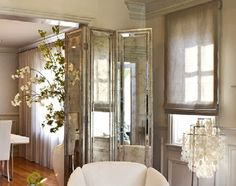 ** Modern and Sophisticated Door Design of Glam Couple by Claudia Mahecha, San Francisco San Francisco Design, Decorative Screens, San Francisco California, Room Dividers, Door Design, Couple, Doors, Flooring, Bedroom