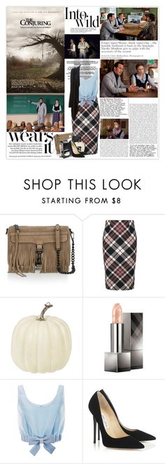 """""""The Conjuring 9/50"""" by mars ❤ liked on Polyvore featuring Anja, Rebecca Minkoff, Alexander McQueen, Chanel, Burberry, Honor, Jimmy Choo and MICHAEL Michael Kors"""