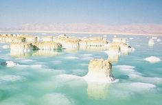 Dead Sea, Israel...this place was amazing!