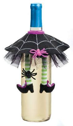 Halloween wine bottle skirt