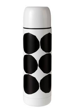 I must remember loose Marimekko Kivet Thermos Marimekko, Container, Dots, Bottle, Modern, Touch, Nice Things, Finland, Home Decor