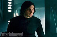 Adam Driver as Kylo Ren, retreating to Supreme Leader Snoke.