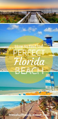 Action-packed or secluded? Manicured or natural? The beach finder tool from Visit Florida can help you find the perfect stretch of sand.