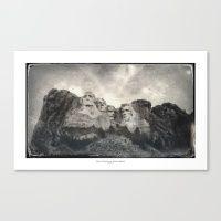 #Society6 #art #decor #Art Mount Rushmore Tintype...