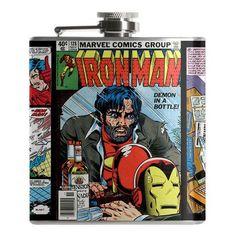 Iron Man Demon in a Bottle Flask