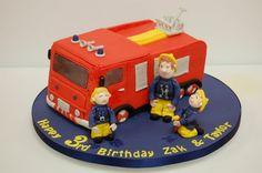 firman sam cake  Cake by Bowbutterfly