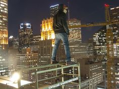 You could call them urban climbers - they scale tall