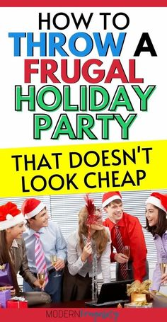 Do you want to throw a holiday party on a budget that people actually doesn't look cheap? Here are some tips to help you throw a great party on a budget! #budgetfriendlyholidayparty #howtosavemoneyonchristmasparty #christmasparty #moneysavinghacksforchristmas #budgetfriendlychristmasparty