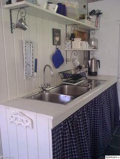 Köket i en sommarstuga