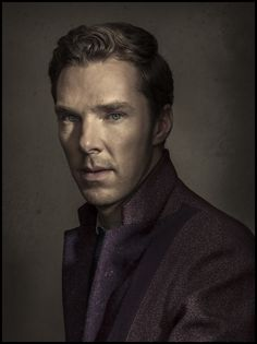 Benedict Cumberbatch on Times magazine