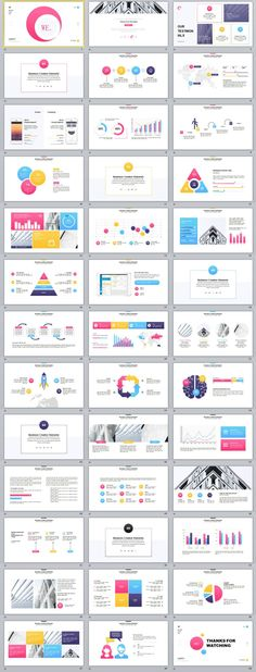 39+ multicolor creative annual report PowerPoint template