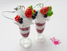 Fimo ice cream - earrings ;)