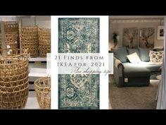 21 IKEA Finds for 2021 - YouTube Best Ikea, Interior Decorating, Interior Design, Ikea Furniture, Shopping Hacks, Decor Styles, Farmhouse Decor, Sweet Home, 21st