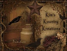 kims kountry kreations primitive wares and country store