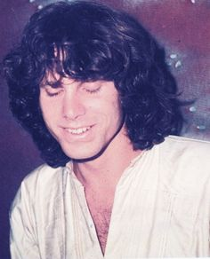 a rare smile   Jim Morrison and the doors
