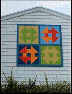 Churn Dash' quilt pattern added to agricultural museum in ...