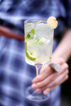 Ginger lime mojito, cocktail