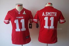 http://www.yjersey.com/hot-nike-49ers-11-smith-red-women-limited-2013-super-bowl-xlvii-jersey.html HOT #NIKE 49ERS 11 SMITH RED WOMEN LIMITED 2013 SUPER BOWL XLVII JERSEYOnly$36.00  Free Shipping!