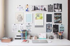"""never-tall-enough: """" I wanna decorate my study table like this """""""