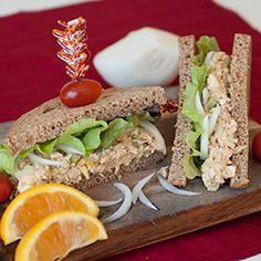 Pub Style Tuna Salad Sandwiches
