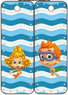 Bubble Guppies: free printables. Right click and save as (site is in spanish)